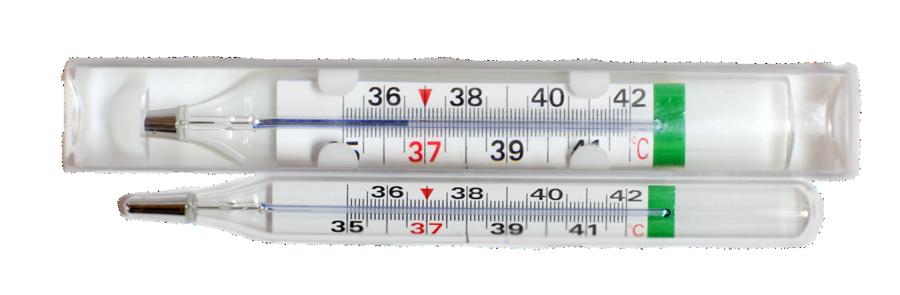 Термометр безртутный для легкого считывания